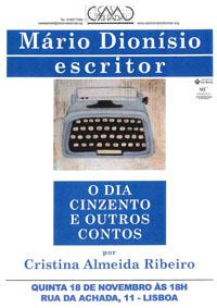 Mário Dionísio escritor - O Dia Cinzento
