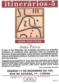 Itinerários - João Paiva
