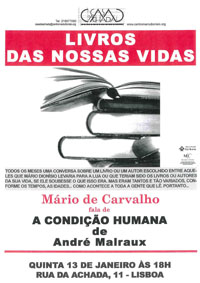 Livros das nossas vidas - Condição Humana